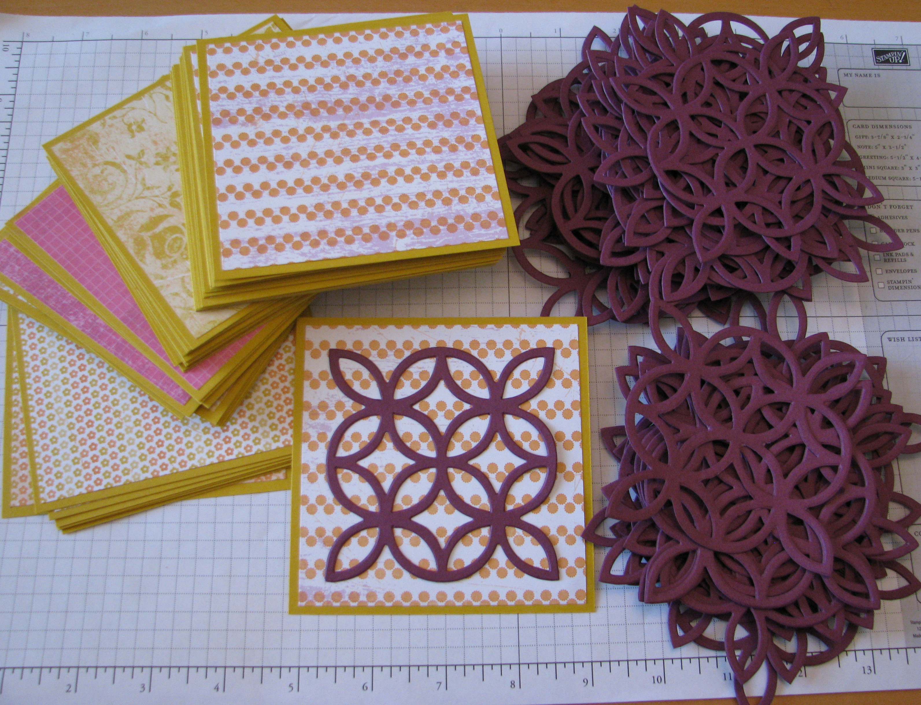 one good thing about stamping� stamping with karen